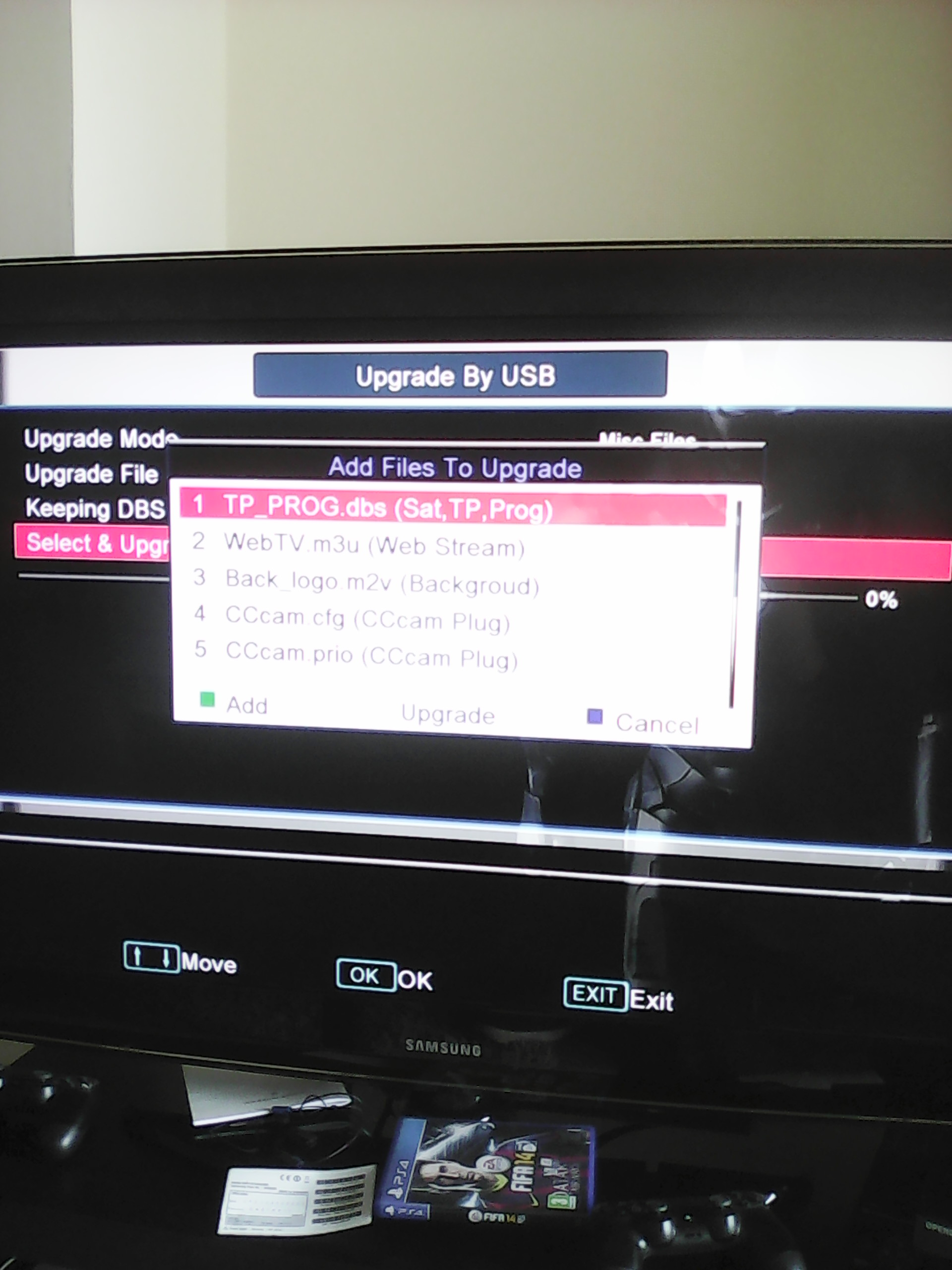 Openbox Channel list Upgrade by USB | My Free TV Box